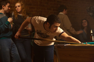 Nick Thurston Playing Pool - Photo by Brian Everett Francis